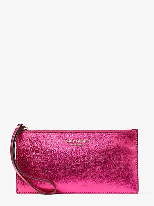 spencer metallic phone wristlet by kate spade new york non-hover view