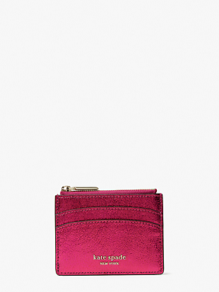 spencer metallic coin cardholder by kate spade new york non-hover view