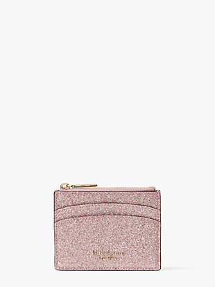 spencer glitter coin cardholder by kate spade new york non-hover view