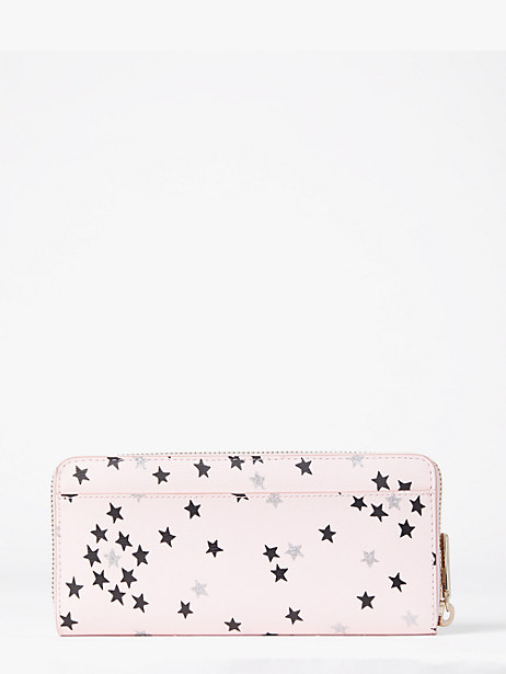 Spencer confetti stars slim continental wallet   Kate Spade New York