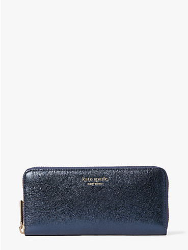 spencer metallic slim continental wallet, , rr_productgrid
