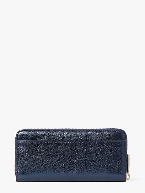 Spencer metallic slim continental wallet | Kate Spade New York