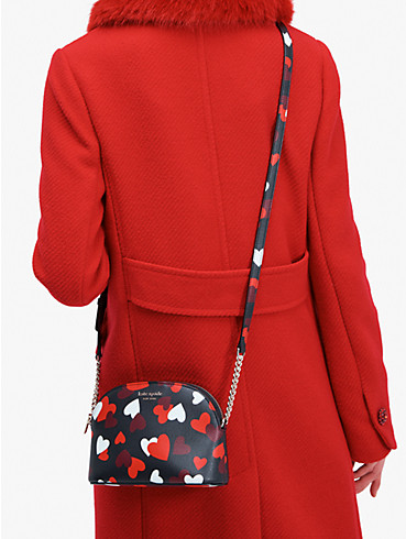 spencer celebration hearts small dome crossbody, , rr_productgrid