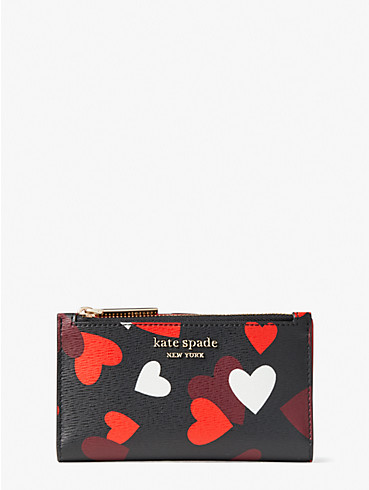 spencer celebration hearts small slim bifold wallet, , rr_productgrid