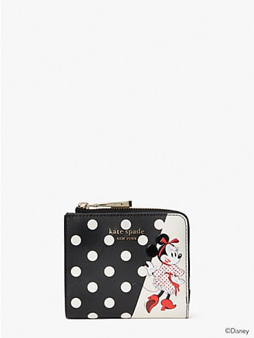 Disney x kate spade new york Minnie Mouse Faltbrieftasche, klein, , rr_productgrid