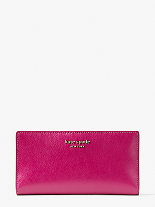 spencer slim bifold wallet by kate spade new york non-hover view