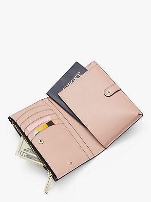 spencer passport wallet by kate spade new york hover view