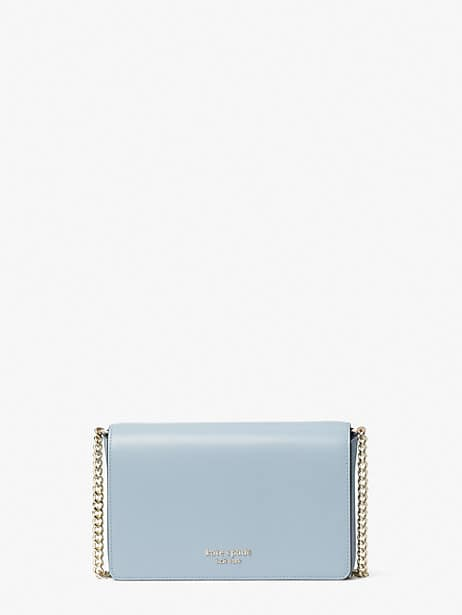 spencer chain wallet, horizon blue, large by kate spade new york