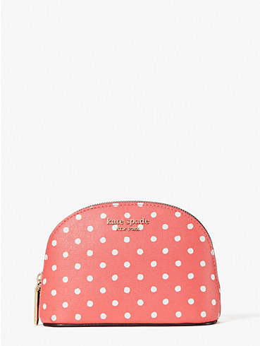 spencer dots small dome cosmetic case, , rr_productgrid