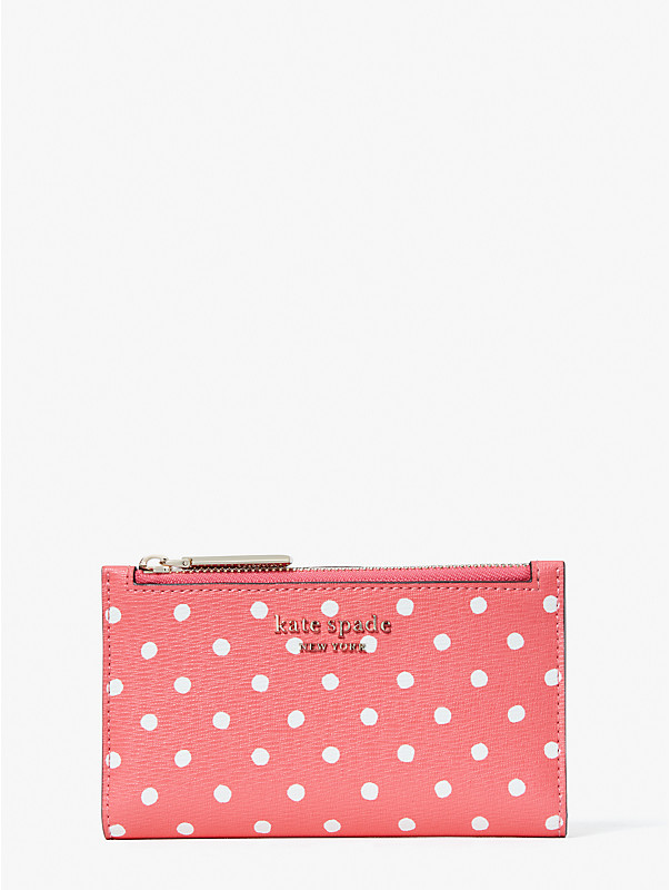 spencer dots small slim bifold wallet, , rr_large