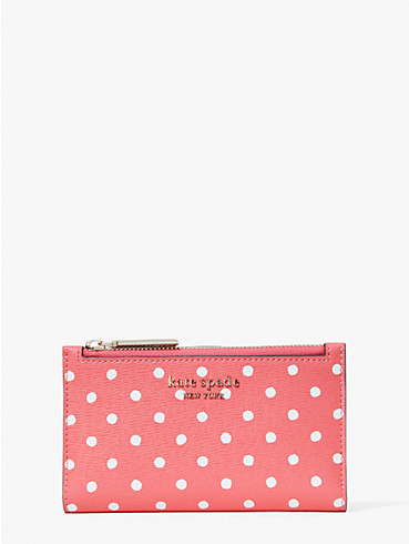 spencer dots small slim bifold wallet, , rr_productgrid