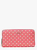 spencer dots zip-around continental wallet, , s7productThumbnail