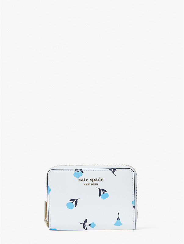 spencer dainty bloom zip card case, , rr_large