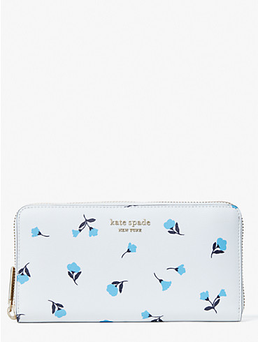 spencer dainty bloom zip-around continental wallet, , rr_productgrid