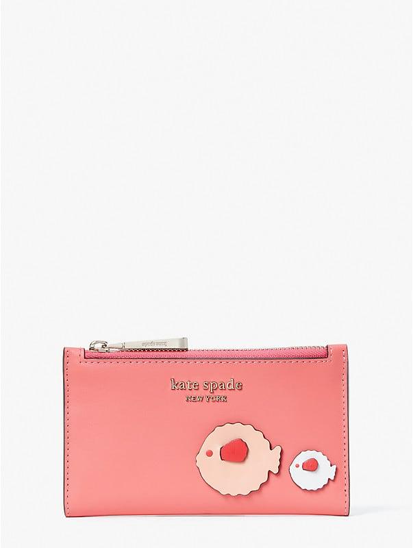 Puffy Klapp-Portemonnaie, schmal, klein, , rr_large