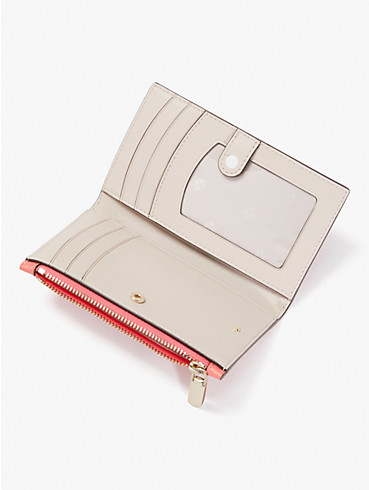 puffy small slim bifold wallet, , rr_productgrid