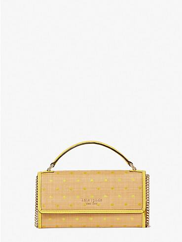 roulette raffia dots top-handle crossbody, , rr_productgrid