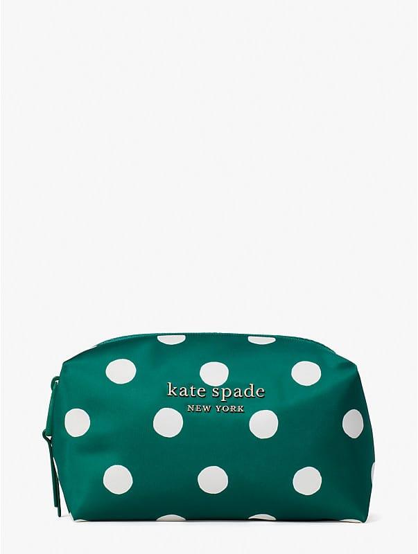 everything puffy sunshine dot medium cosmetic case, , rr_large