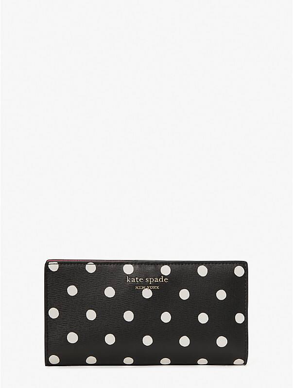 spencer sunshine dot slim bifold wallet, , rr_large