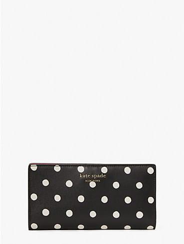 spencer sunshine dot slim bifold wallet, , rr_productgrid