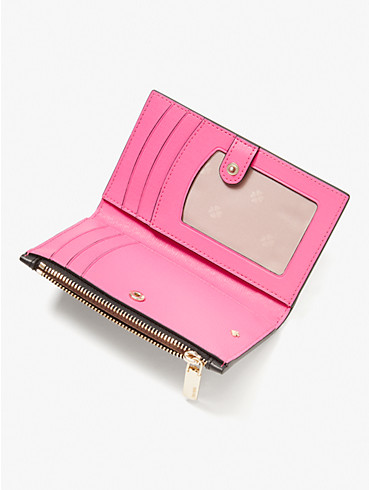 spencer sunshine dot small slim bifold wallet, , rr_productgrid