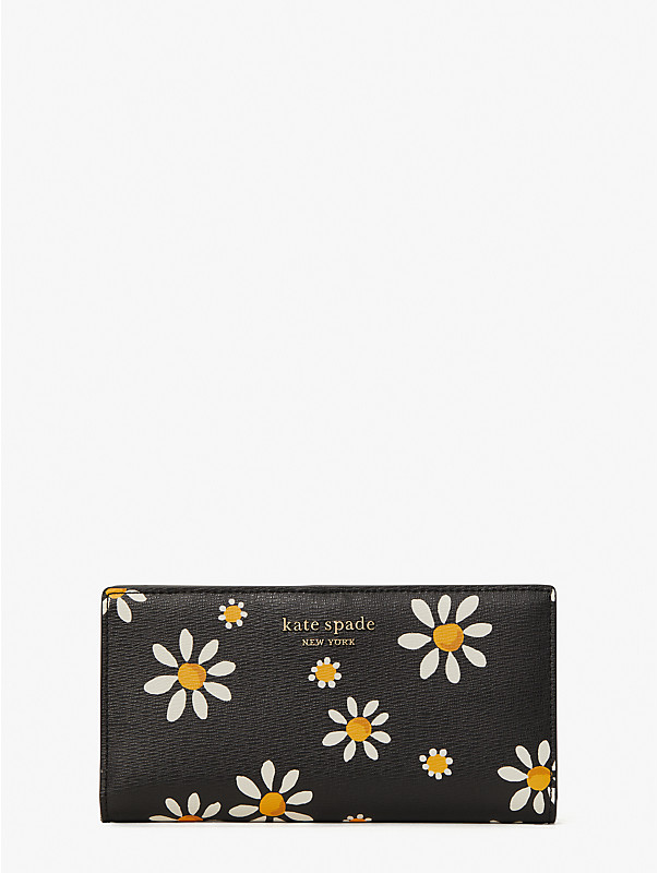 spencer daisy dots slim bifold wallet, , rr_large