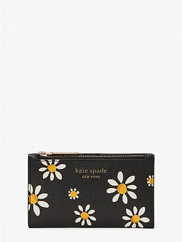 spencer daisy dots small slim bifold wallet, , rr_productgrid