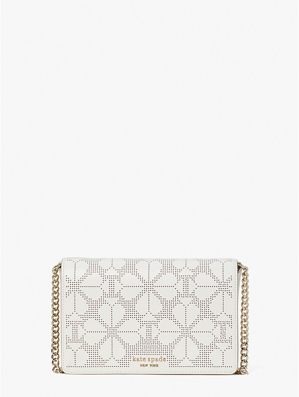 spencer perforated chain wallet, , rr_large