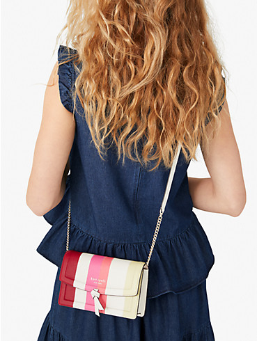knott stripe flap crossbody, , rr_productgrid