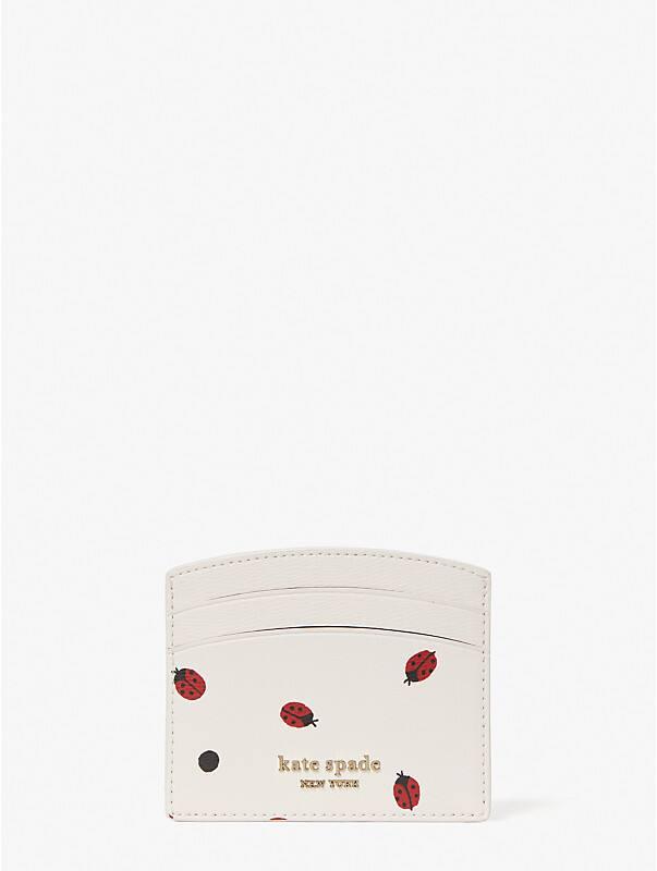 lady bug dots cardholder, , rr_large