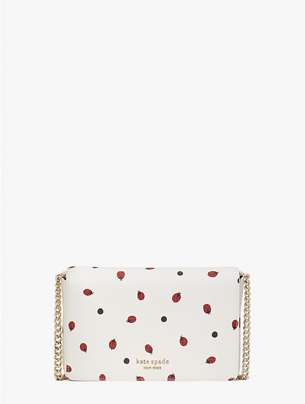 lady bug dots chain wallet, , rr_large