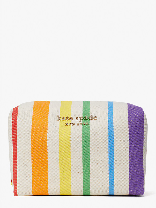 rainbow large cosmetic case, , rr_large