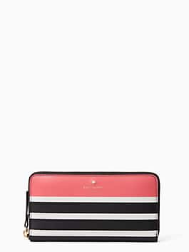 hyde lane pop stripe michele, peach sherbert, medium