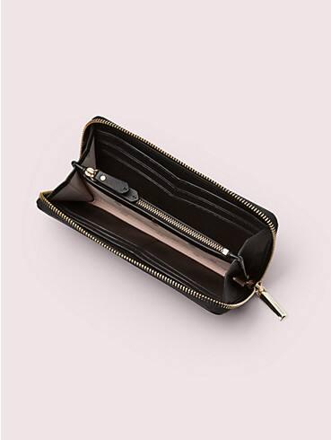 margaux enamel spade slim continental wallet, , rr_productgrid