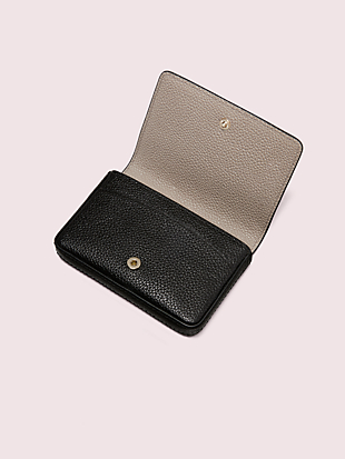 margaux flap card case by kate spade new york hover view