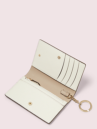 margaux small keyring wallet by kate spade new york hover view