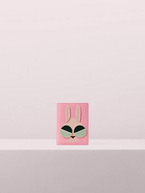 spademals money bunny bifold cardholder by kate spade new york