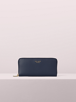 sylvia slim continental wallet by kate spade new york non-hover view