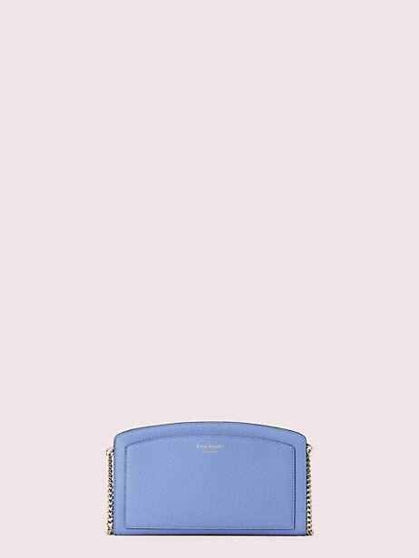 margaux east west crossbody, forget-me-not, large by kate spade new york