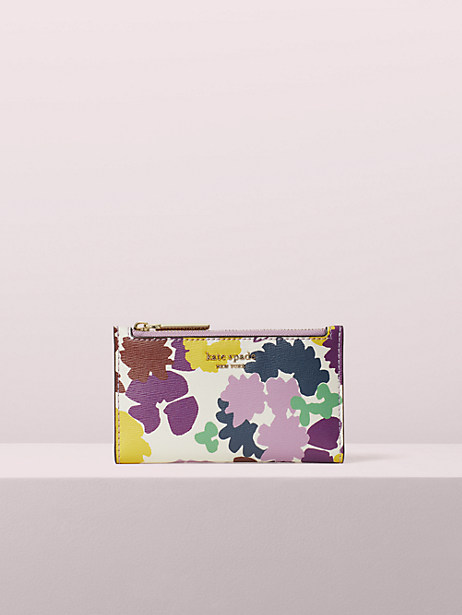 sylvia swing flora small slim bifold wallet by kate spade new york