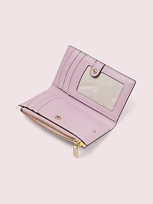 sylvia swing flora small slim bifold wallet by kate spade new york hover view