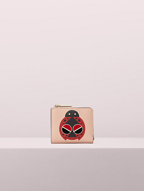 spademals lucky ladybug small bifold wallet by kate spade new york