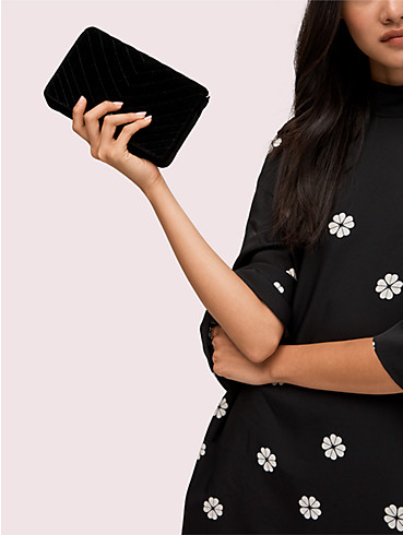 amelia velvet chain wallet, , rr_productgrid
