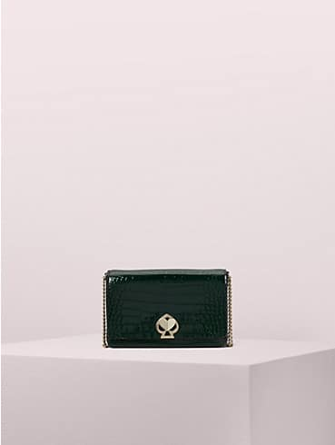 romy croc-embossed chain wallet, , rr_productgrid
