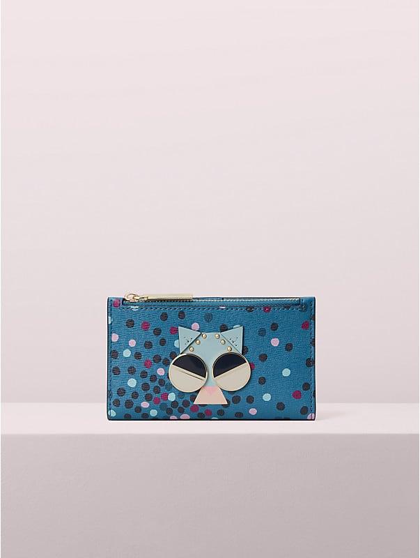 Schmale Spademals Faltbrieftasche Smitten Kitten, , rr_large