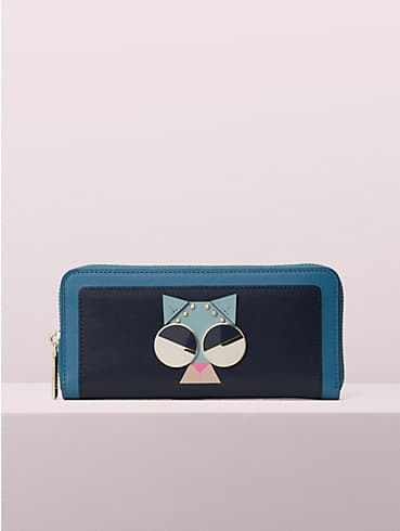 spademals smitten kitten slim continental wallet, , rr_productgrid