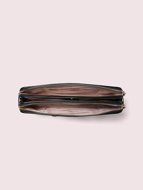 Beaded francois double-zip mini crossbody | Kate Spade New York