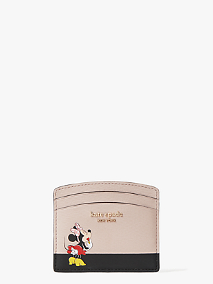 kate spade new york x minnie mouse cardholder by kate spade new york non-hover view