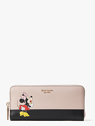 kate spade new york x minnie slim continental wallet by kate spade new york non-hover view