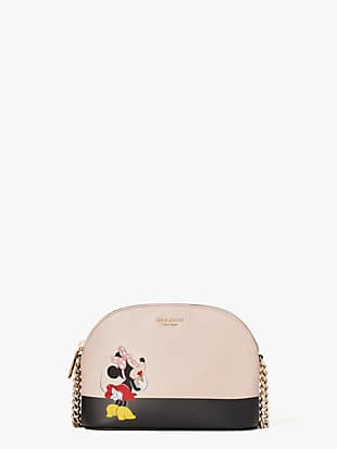 kate spade new york x minnie mouse small dome crossbody by kate spade new york non-hover view